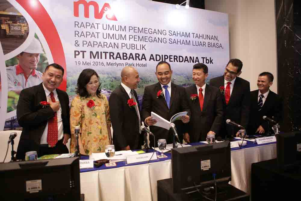 MBAP Batu Bara Masih Bervolatil Tinggi - Mitrabara Targetkan Penjualan 3,5 Juta Ton   Neraca.co.id