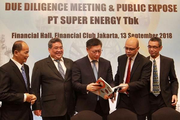 SURE Dukung Ekspansi Bisnis - Super Energy Siapkan Capex Rp 100 Miliar | Neraca.co.id