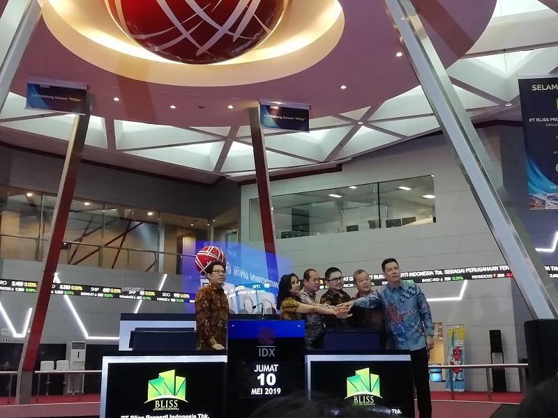 POSA BEI Suspensi Saham Bliss Properti Indonesia | Neraca.co.id