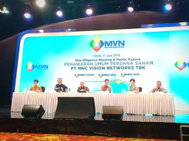 MSKY IPTV Pacu Pangsa Pasar - MNC Vision Networks Berinovasi dengan QR Code | Neraca.co.id