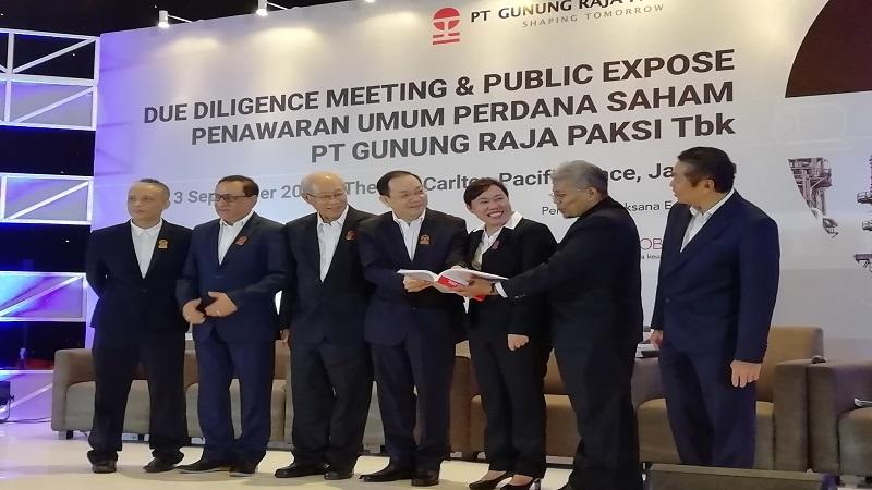 GGRP Ganti Logo dan Napak Tilas - Gunung Raja Paksi Berinovasi Bangun Negeri | Neraca.co.id
