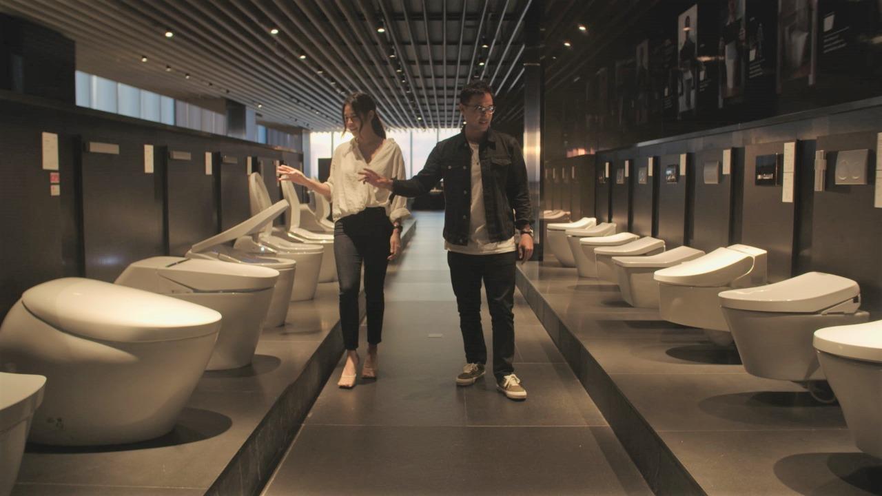 TOTO Terinspirasi Kejernihan Air - TOTO Raih BCI Asia Interior Design Award 2020 | Neraca.co.id